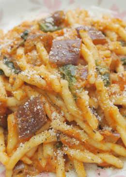 茄子乳酪紅醬義大利麵