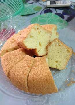 烘烤式 ~ 班蘭雪芳蛋糕 Pandan Chiffon Cake