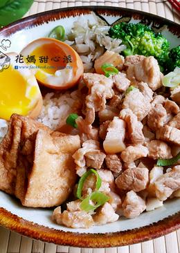 手切蒜香肉燥(簡易電鍋版)