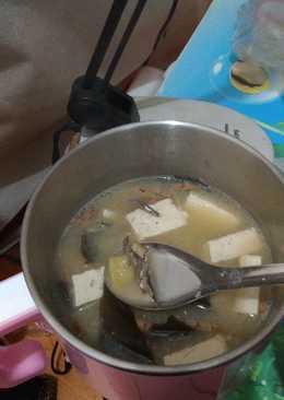 小魚豆腐昆布味噌湯