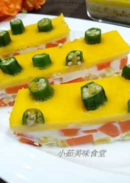彩蔬三色蛋(電鍋料理)