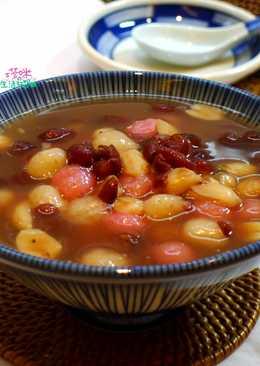 紅豆花生湯圓