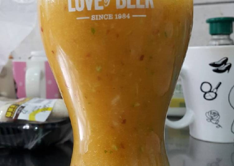 蘋果檸檬胡蘿蔔汁