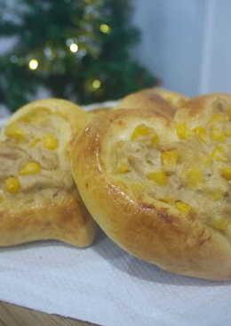 鮪魚玉米麵包
