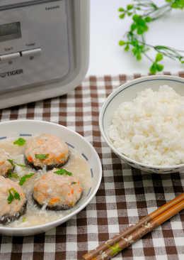蝦肉釀鮮菇