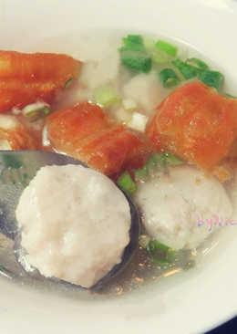 手工魚丸湯