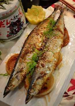 味噌烤秋刀魚