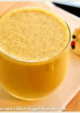 薑黃米布丁蜂蜜奶昔.柯媽媽の植物燕窩