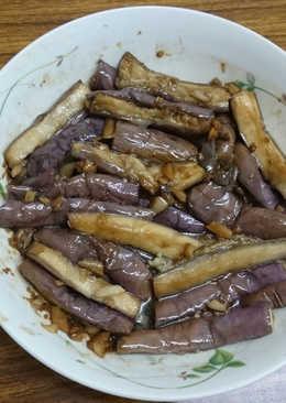 金銀蒜蒸茄子(電鍋料理)