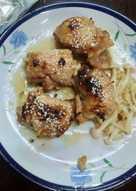 蜂蜜檸香菇菇肉捲