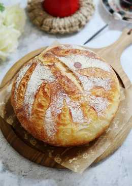 殘留辛苦汗水的《液種酵頭白麵包》歐式麵包
