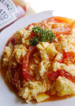 [亨氏番茄醬]蕃茄炒蛋❤滑蛋升級版