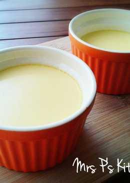 鮮奶燉蛋【15分鐘食譜】