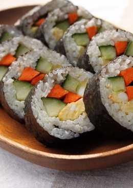 簡單壽司捲