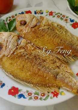 香煎盤仔魚