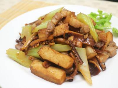 鹹豬肉客家小炒(0廚藝ok