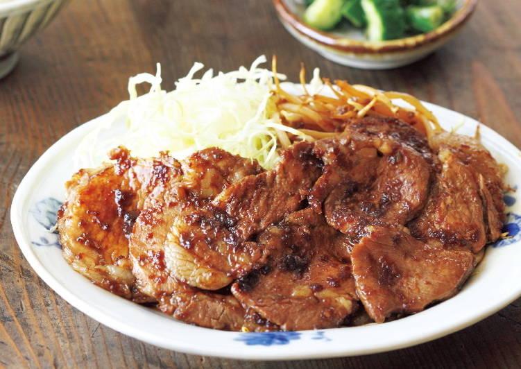 東販小食堂:日式家常菜 豬肉生薑燒