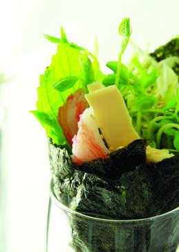 起司蔬菜手捲