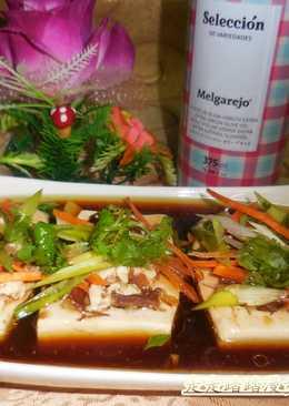 清蒸豆腐鑲肉