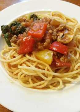 家常蕃茄義大利肉醬麵