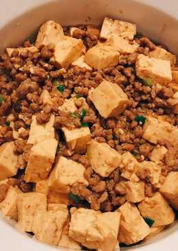 肉末炒豆腐
