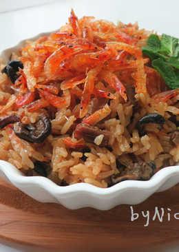 低卡櫻花蝦油飯 年菜
