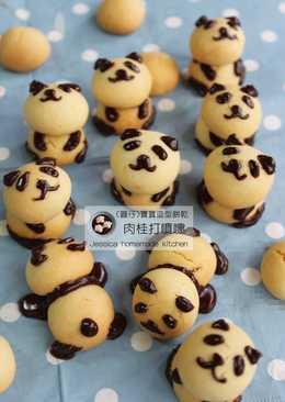 熊貓寶寶造型餅乾