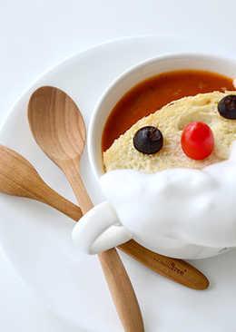 [聖誕節限定]聖誕老人蕃茄湯