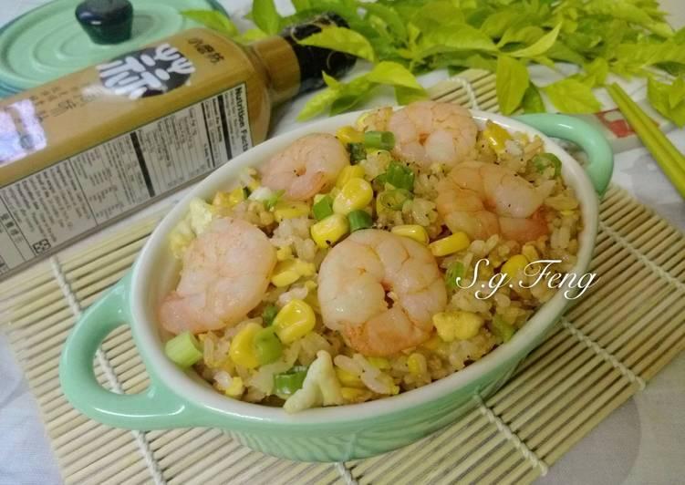 蝦仁玉米炒飯