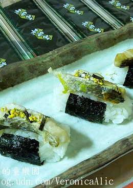【 元本山海苔 】烤魚海苔壽司
