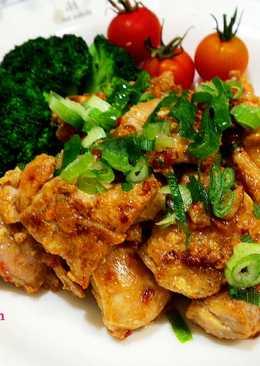 日式味噌煎雞塊