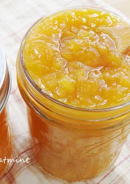 夏日金黃香檸芒果果醬