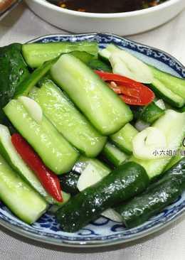 免醃涼拌小黃瓜