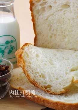超手感彎腰吐司【麵包機食譜】
