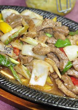 【御釀燒烤滋味】鐵板蔥爆牛肉
