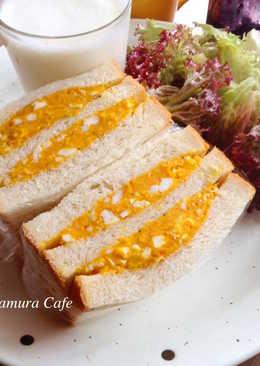 南瓜蛋沙拉三明治