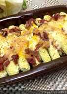 培根焗烤玉米筍