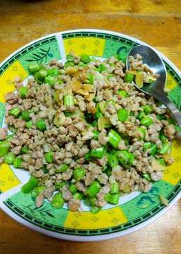 豆子打拋肉