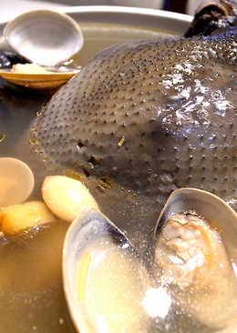 有心食譜:蒜頭蛤蜊雞湯