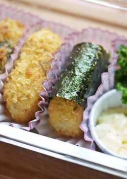 海苔蟹肉可樂餅