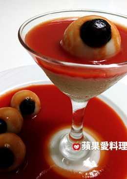 眼球果凍馬丁尼(無酒精。超簡單)