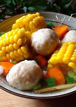 玉米肉丸子湯