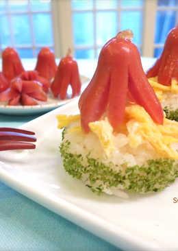 小章魚御飯糰