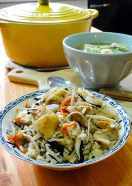 牛蒡雞肉香菇炊飯