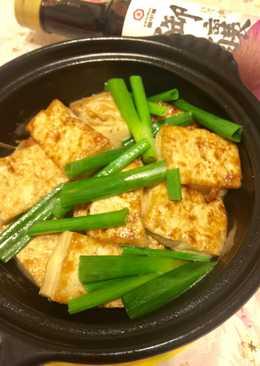 【御釀滷煮入味】醬燒豆腐