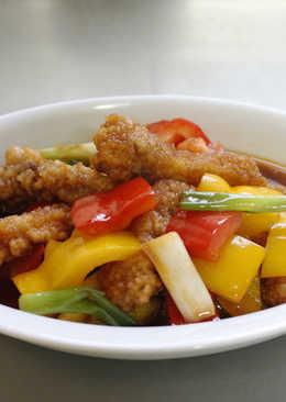 【匯鮮市集)魚柳糖醋彩椒