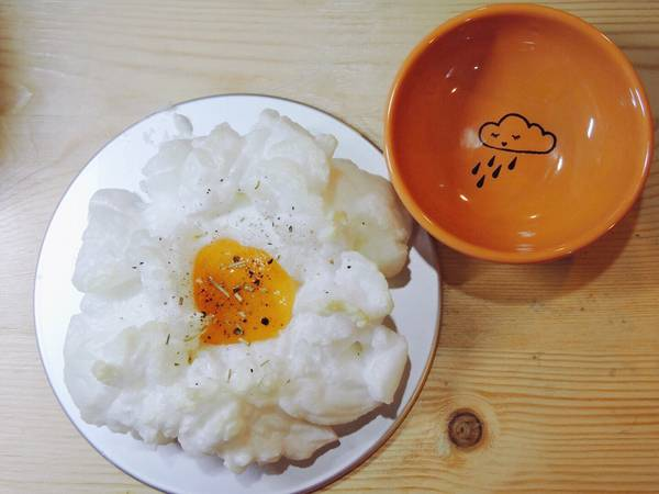雲朵蛋 Cloud eggs