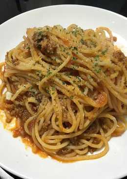 義大利番茄肉醬麵