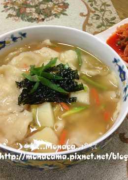 韓式馬鈴薯麵疙瘩감자수제비
