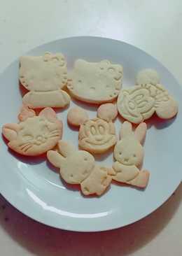 卡通奶香餅乾